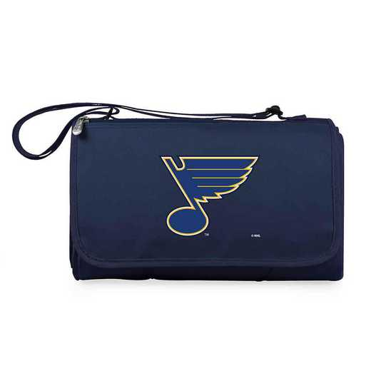 820-00-138-254-10: St Louis Blues - 'Blnkt Tote' (Nvy)