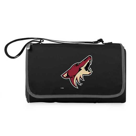 820-00-175-024-10: Arizona Coyotes - 'Blnkt Tote' (Black)