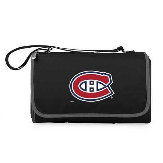 820-00-175-164-10: Montreal Canadiens - 'Blnkt Tote' (Black)