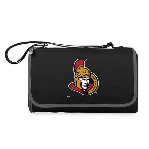 820-00-175-214-10: Ottawa Senators - 'Blnkt Tote' (Black)