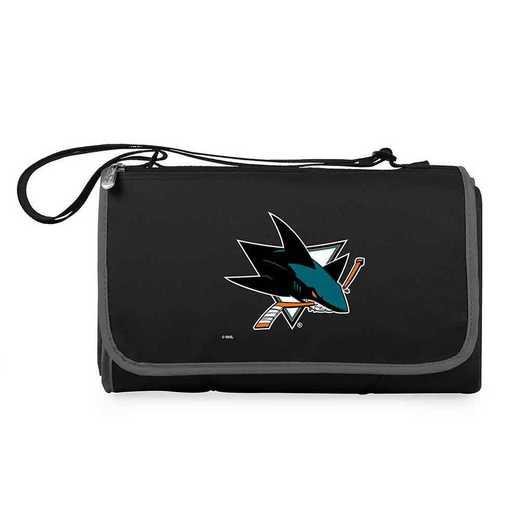 820-00-175-244-10: San Jose Sharks - 'Blnkt Tote' (Black)