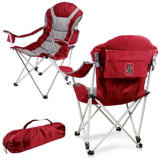 803-00-100-534-0: Stanford - Reclining Camp Chair (Red)
