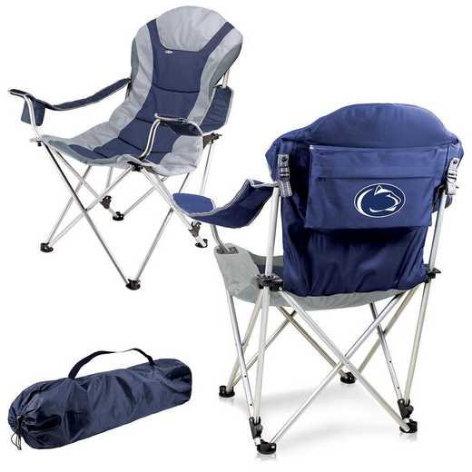 803-00-138-494-0: Penn State Nittany Lions - Reclining Camp Chair (Navy)