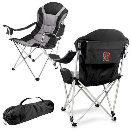 803-00-175-534-0: Stanford - Reclining Camp Chair (Black)
