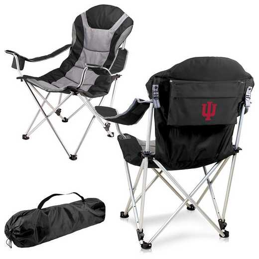 803-00-175-674-0: Indiana- Reclining Camp Chair (Black)