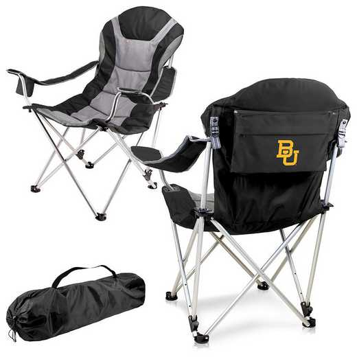 803-00-175-924-0: Baylor Bears - Reclining Camp Chair (Black)