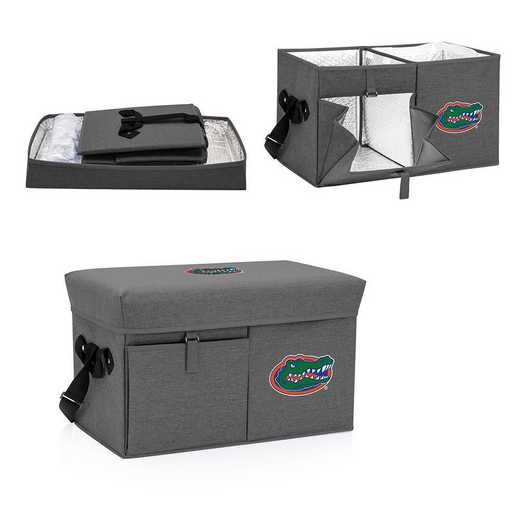 594-00-105-164-0: Florida Gators - Ottoman Cooler & Seat (Grey)