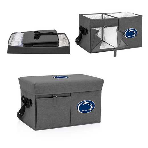 594-00-105-494-0: Penn State Nittany Lions - Ottoman Cooler & Seat (Grey)