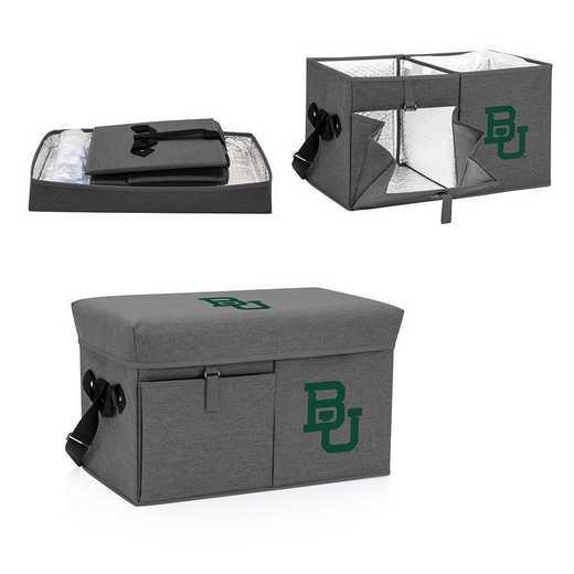 594-00-105-924-0: Baylor Bears - Ottoman Cooler & Seat (Grey)