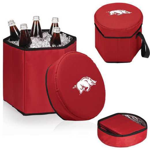 596-00-100-034-0: Arkansas Razorbacks - Bongo Cooler (Red)
