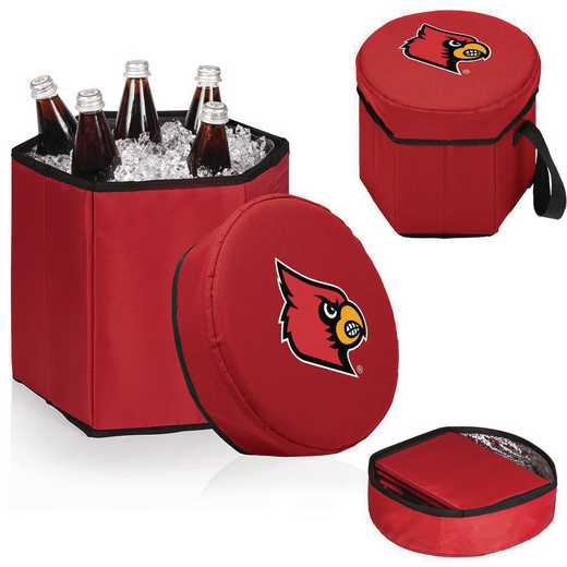 596-00-100-304-0: Louisville Cardinals - Bongo Cooler (Red)