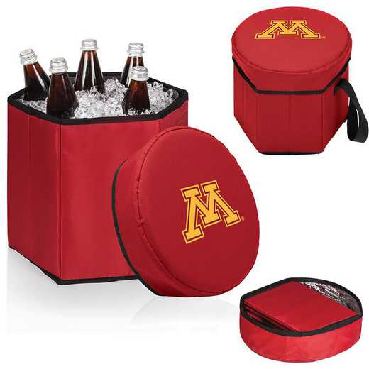 596-00-100-364-0: Minnesota Golden Gophers - Bongo Cooler (Red)