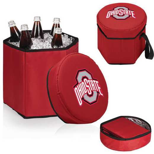 596-00-100-444-0: Ohio State Buckeyes - Bongo Cooler (Red)