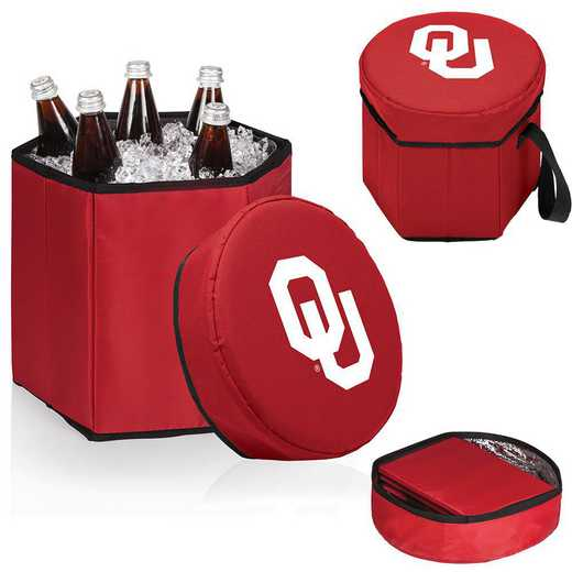 596-00-100-454-0: Oklahoma Sooners - Bongo Cooler (Red)
