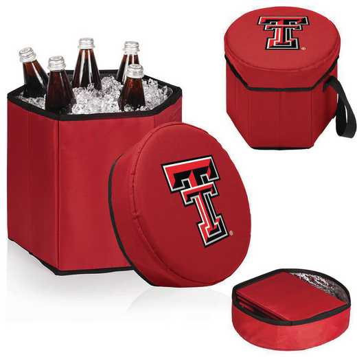 596-00-100-574-0: Texas Tech Red Raiders - Bongo Cooler (Red)