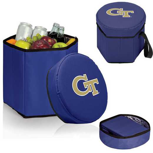 596-00-138-194-0: Georgia Tech Yellow Jackets - Bongo Cooler (Navy)