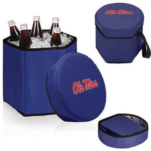 596-00-138-374-0: Ole Miss Rebels - Bongo Cooler (Navy)