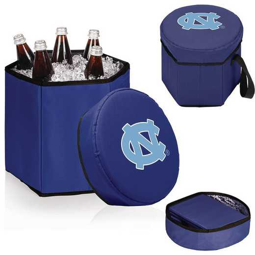 596-00-138-414-0: North Carolina Tar Heels - Bongo Cooler (Navy)
