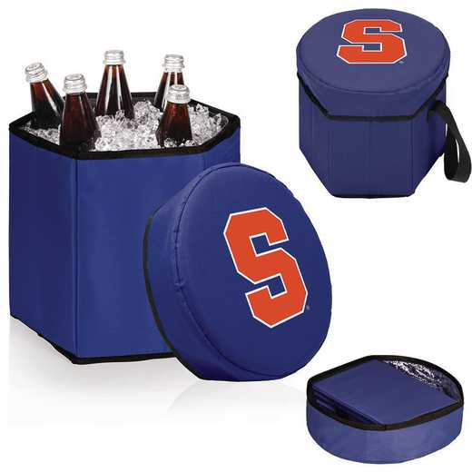 596-00-138-544-0: Syracuse Orange - Bongo Cooler (Navy)