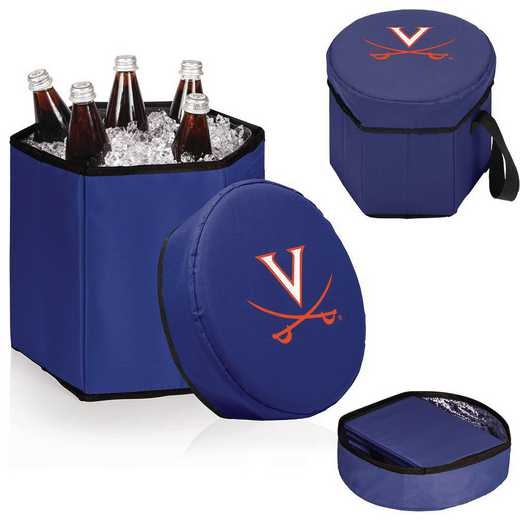 596-00-138-594-0: Virginia Cavaliers - Bongo Cooler (Navy)