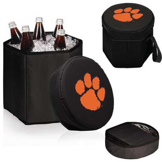 596-00-179-104-0: Clemson Tigers - Bongo Cooler (Black)