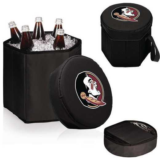 596-00-179-174-0: Florida State Seminoles - Bongo Cooler (Black)