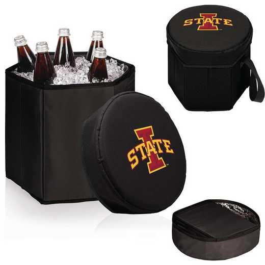 596-00-179-234-0: Iowa State Cyclones - Bongo Cooler (Black)