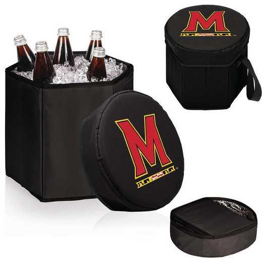 596-00-179-314-0: Maryland Terrapins - Bongo Cooler (Black)