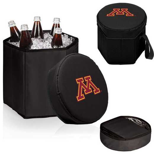 596-00-179-364-0: Minnesota Golden Gophers - Bongo Cooler (Black)