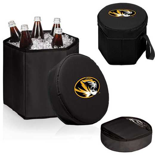 596-00-179-394-0: Mizzou Tigers - Bongo Cooler (Black)