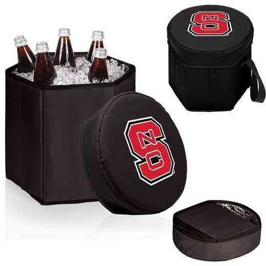 596-00-179-424-0: NC State Wolfpack - Bongo Cooler (Black)