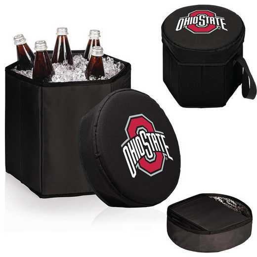596-00-179-444-0: Ohio State Buckeyes - Bongo Cooler (Black)