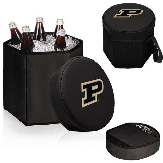 596-00-179-514-0: Purdue Boilermakers - Bongo Cooler (Black)