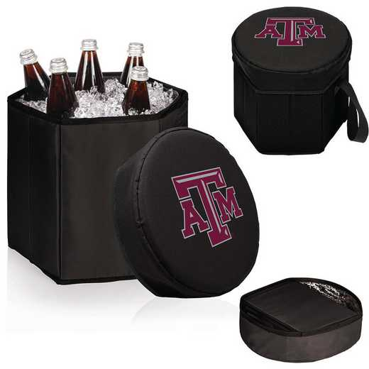 596-00-179-564-0: Texas A&M Aggies - Bongo Cooler (Black)