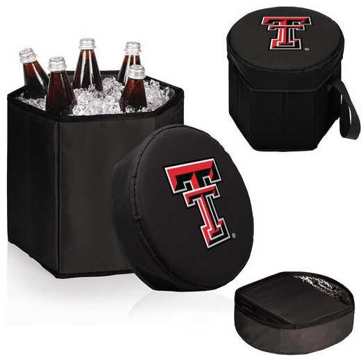 596-00-179-574-0: Texas Tech Red Raiders - Bongo Cooler (Black)