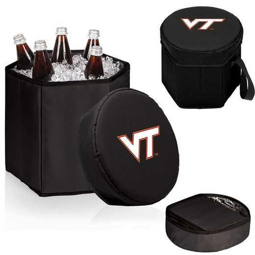 596-00-179-604-0: Virginia Tech Hokies - Bongo Cooler (Black)