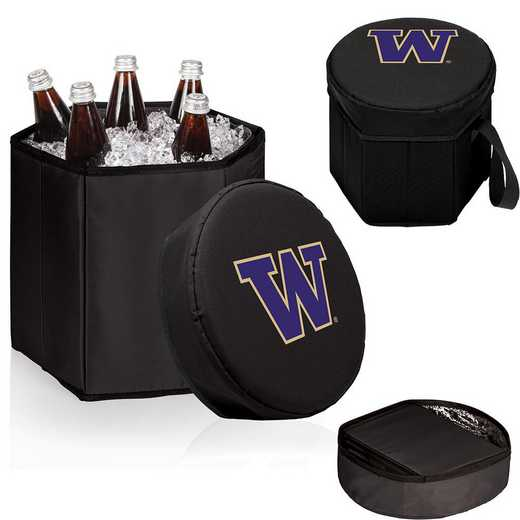 596-00-179-624-0: Washington Huskies - Bongo Cooler (Black)