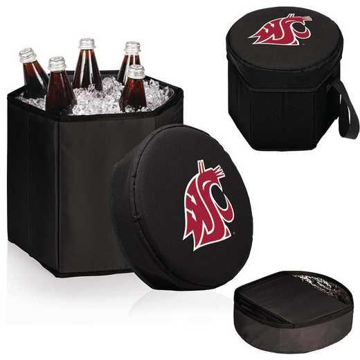 596-00-179-634-0: Washington State Cougars - Bongo Cooler (Black)