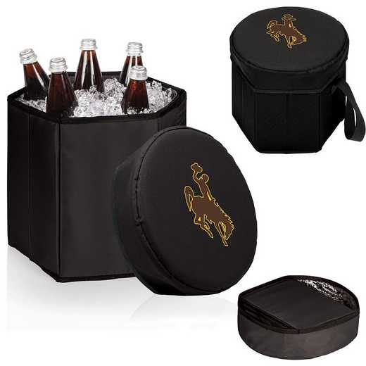 596-00-179-694-0: Wyoming Cowboys - Bongo Cooler (Black)
