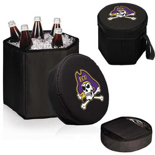 596-00-179-874-0: East Carolina Pirates - Bongo Cooler (Black)