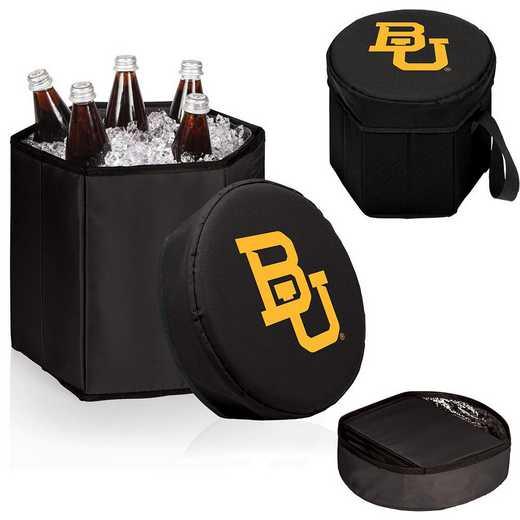 596-00-179-924-0: Baylor Bears - Bongo Cooler (Black)