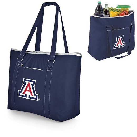 598-00-138-014-0: Arizona Wildcats - Tahoe Cooler Tote (Navy)