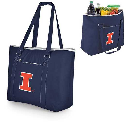 598-00-138-214-0: Illinois Fighting Illini - Tahoe Cooler Tote (Navy)