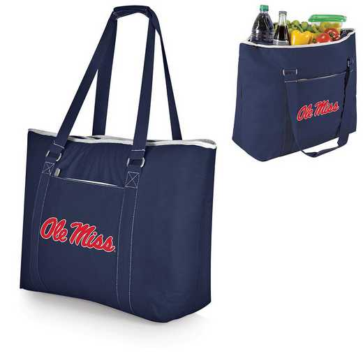 598-00-138-374-0: Ole Miss Rebels - Tahoe Cooler Tote (Navy)