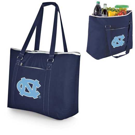 598-00-138-414-0: North Carolina Tar Heels - Tahoe Cooler Tote (Navy)
