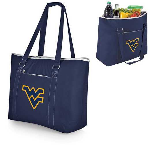 598-00-138-834-0: West Virginia Mountaineers - Tahoe Cooler Tote (Navy)