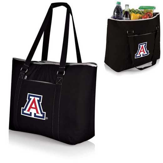 598-00-175-014-0: Arizona Wildcats - Tahoe Cooler Tote (Black)