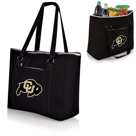 598-00-175-124-0: Colorado Buffaloes - Tahoe Cooler Tote (Black)