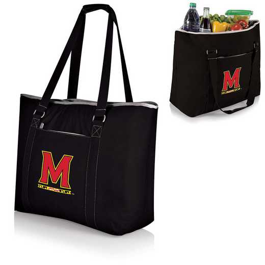 598-00-175-314-0: Maryland Terrapins - Tahoe Cooler Tote (Black)