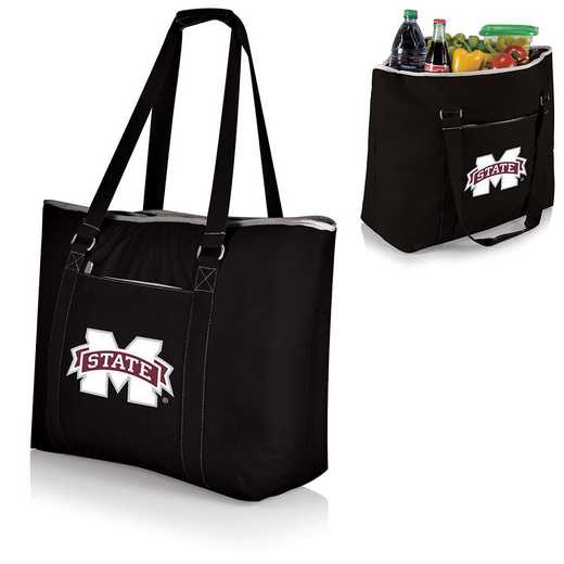 598-00-175-384-0: Mississippi State Bulldogs - Tahoe Cooler Tote (Black)